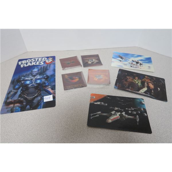 8X Moving Scene Pictures - Batmand and Robin(Mr.Freeze), 4X NHL and 3X Star Wars