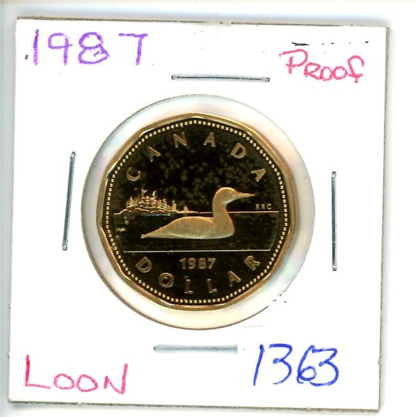 1987 loonie
