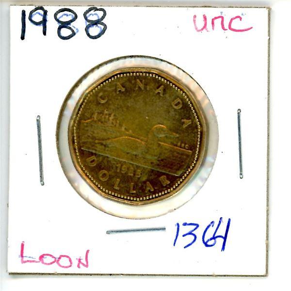 1988 loonie