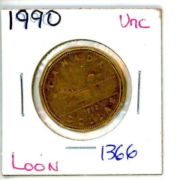 1990 loonie