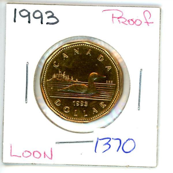 1993 loonie