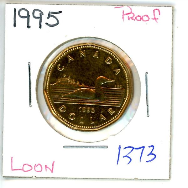 1995 loonie