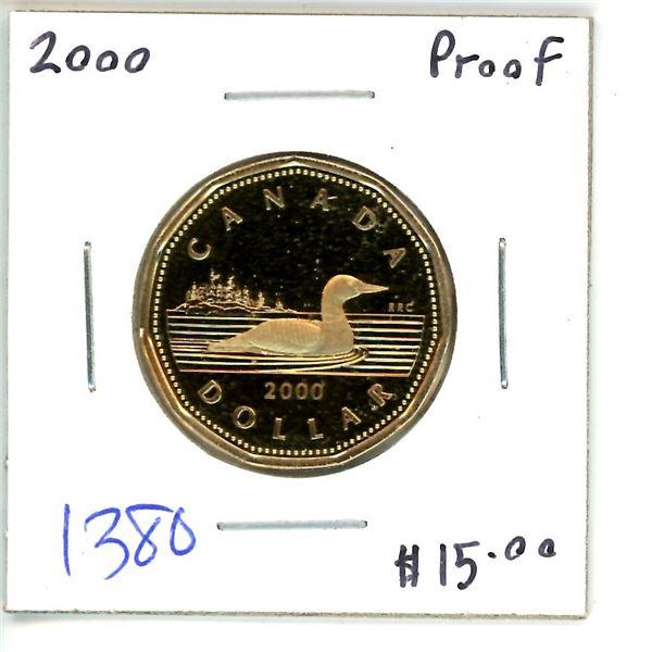 2000 loonie