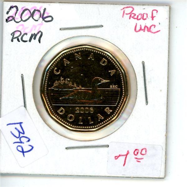 2006 loonie