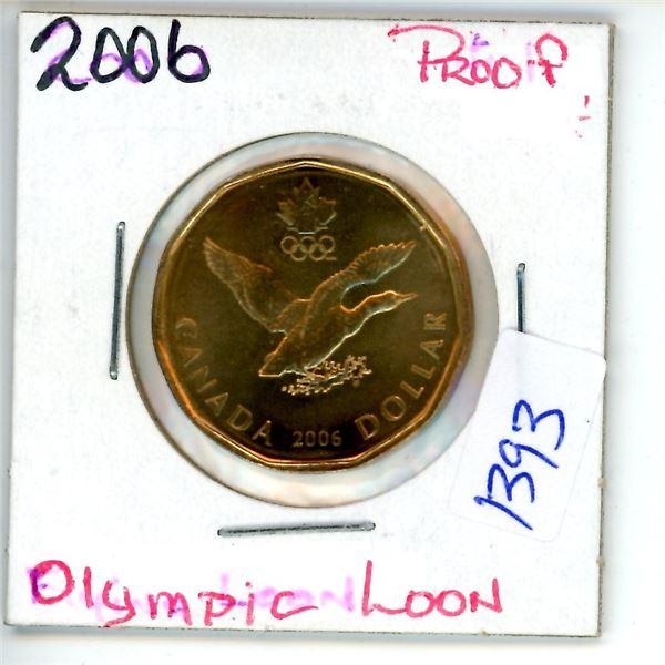 2006 olympic loonie
