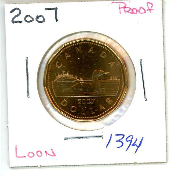 2007 loonie
