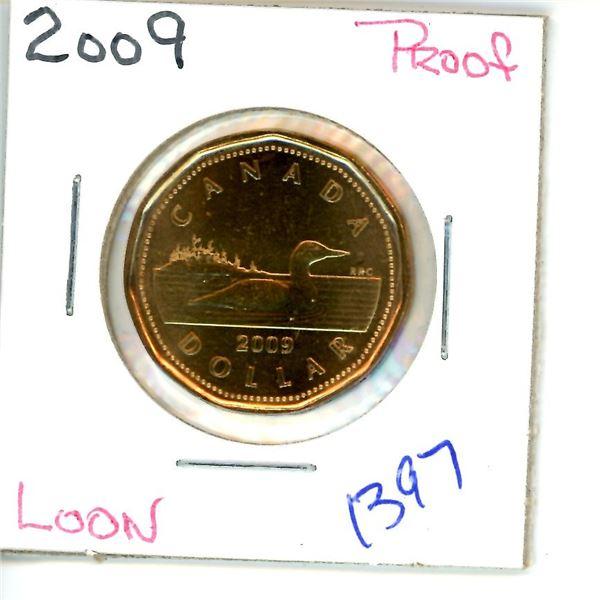 2009 loonie