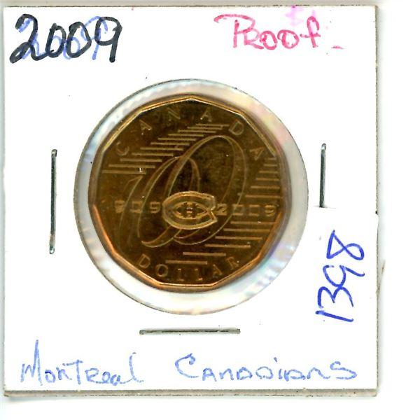 2009 montreal canadiens loonie