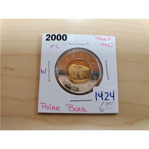 2000 toonie