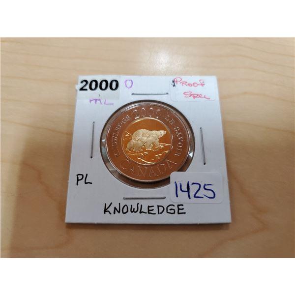 2000 knowledge toonie