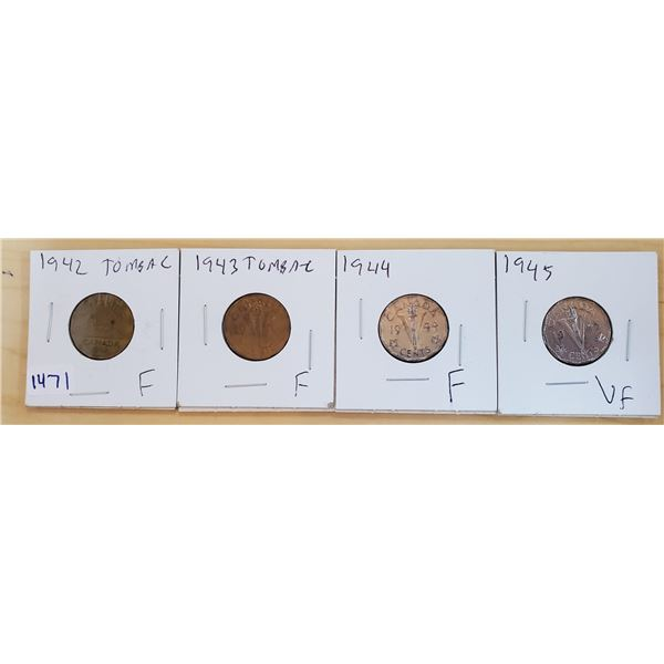 four 5 cents 1942-1945