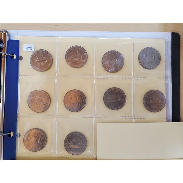10 x 1976 canada dollar