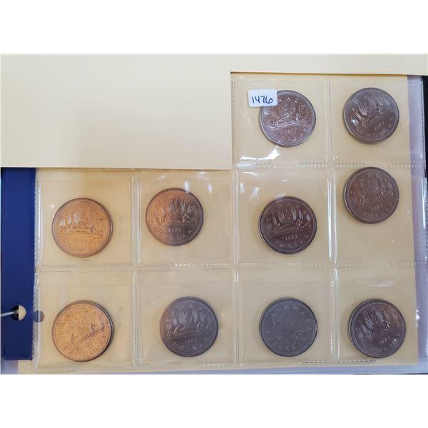 10 x 1977 canada dollar