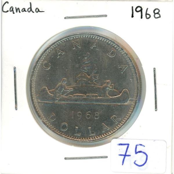 Canada 1968 nickel dollar