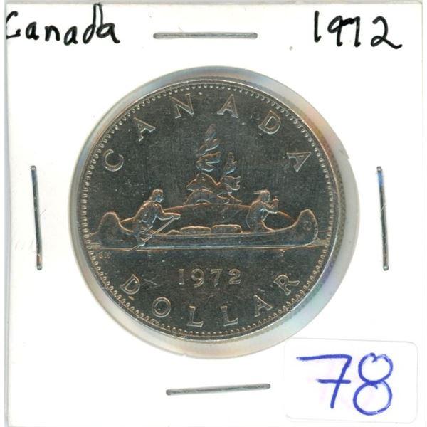 Canada 1972 nickel dollar