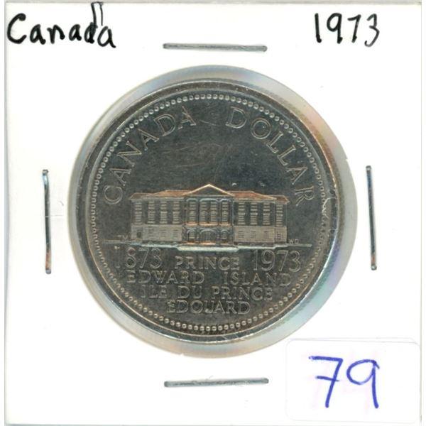 Canada 1973 nickel dollar