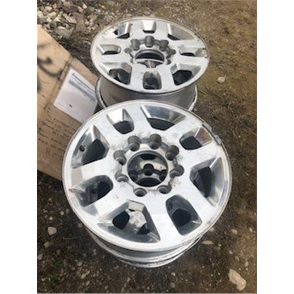 tire rims - 8 bolt chevy