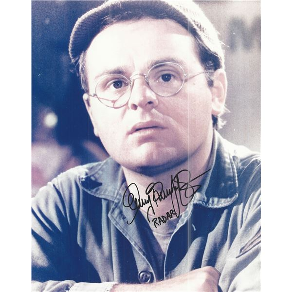 M*A*S*H Gary Burghoff signed photo
