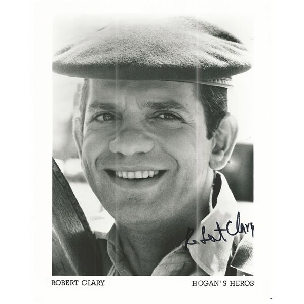 Hogan's Heroes Robert Clary signed photo