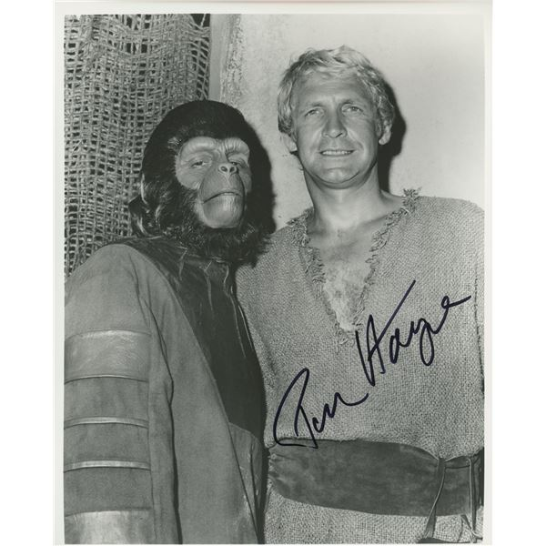 """Ron Harper """"Planet of the Apes"""" signed photo"""