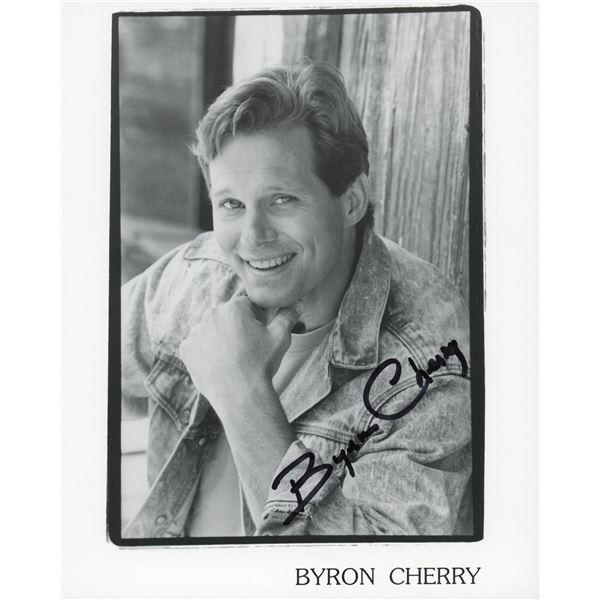 Byron Cherry signed photo