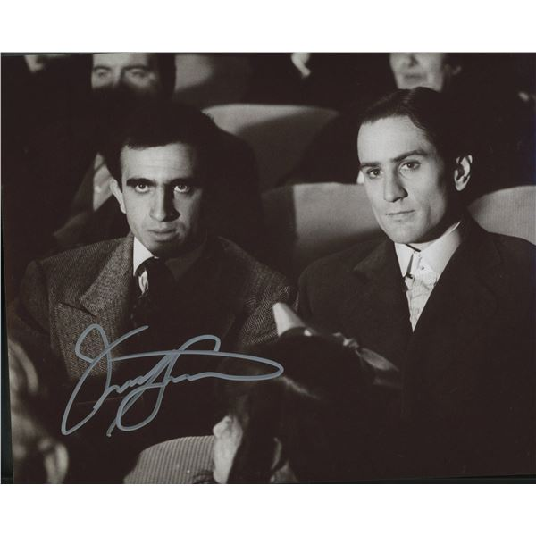 """Frank Sivero signed """"The Godfather Part II"""" movie photo"""