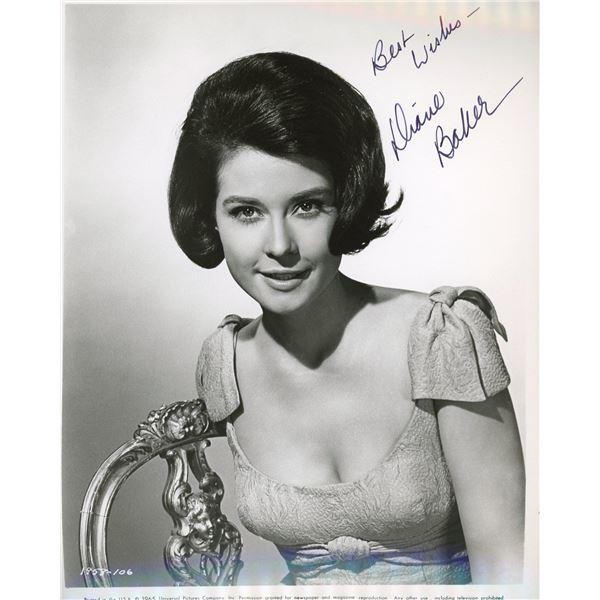 Diane Baker signed photo