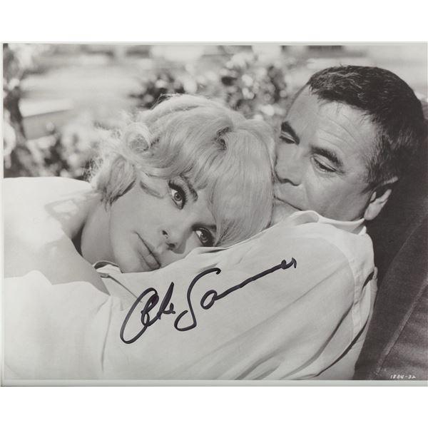 Elke Sommer signed movie photo