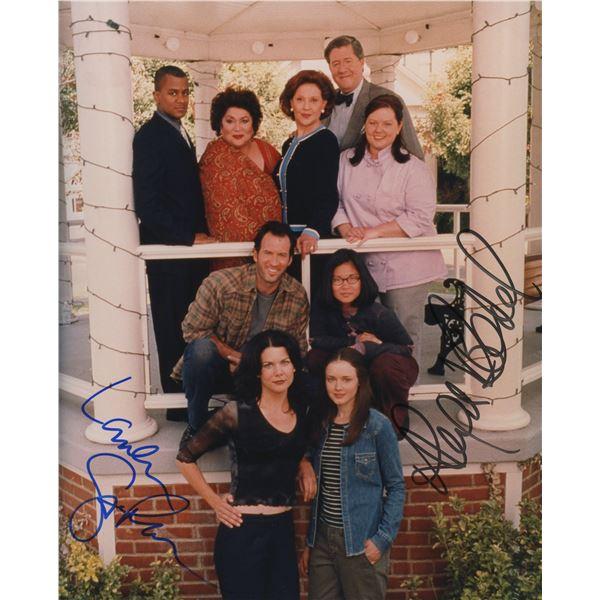 Gilmore Girls cast signed photo