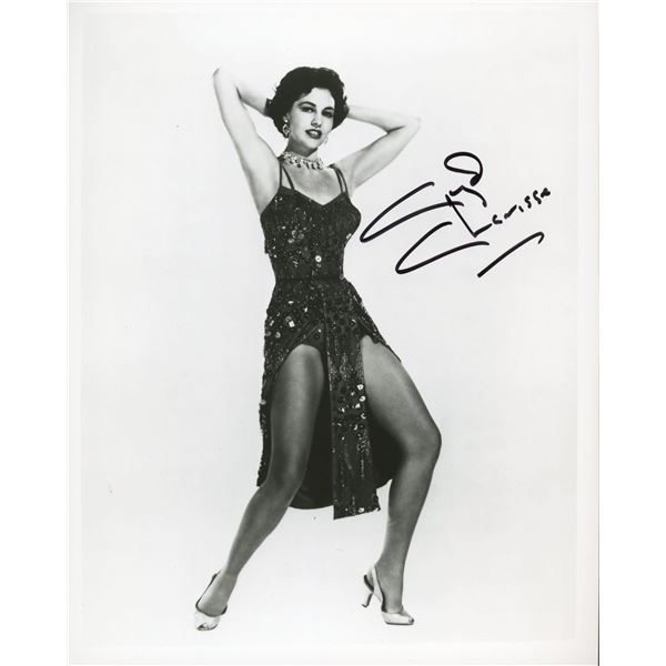 Cyd Charisse signed photo
