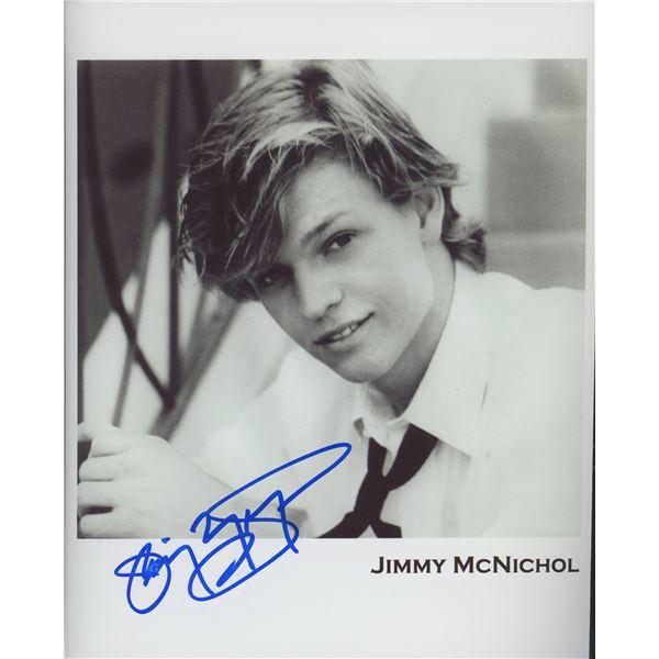 Jimmy McNichol signed photo