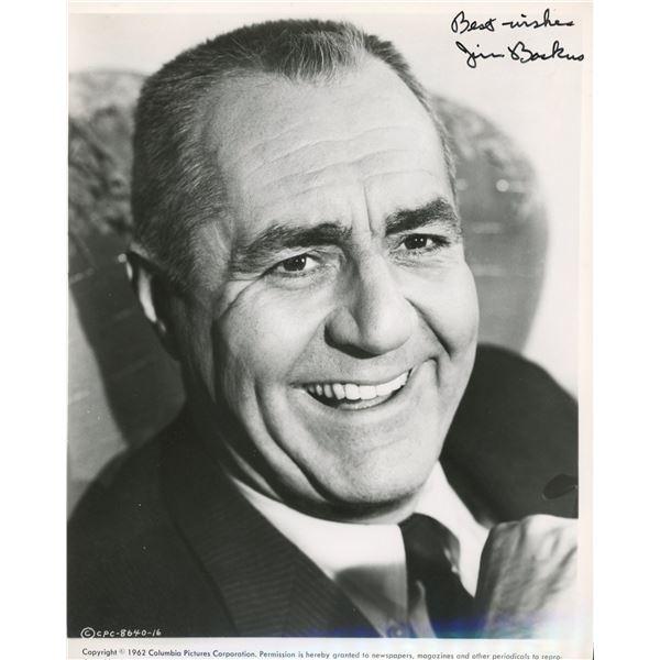 Jim Backus signed Thurston Howell Gilligan's Island photo