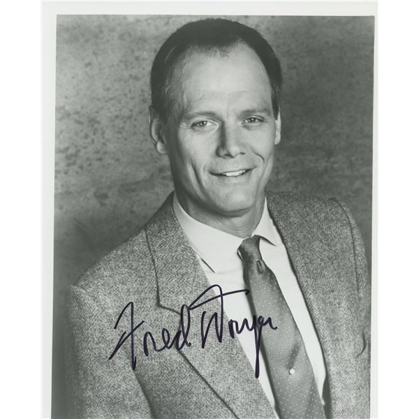 Fred Dryer signed photo