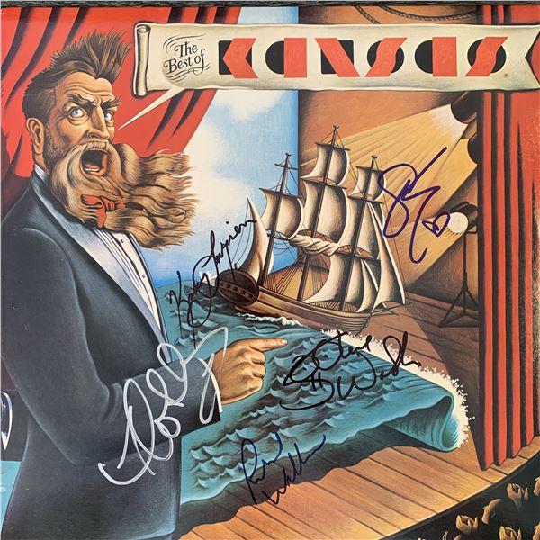 The Best Of Kansas signed album
