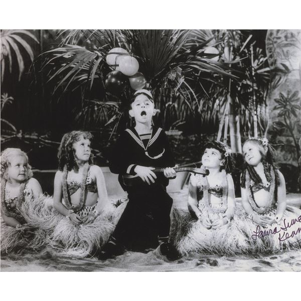 """Laura June Kenney """"The Little Rascals"""" signed photo"""