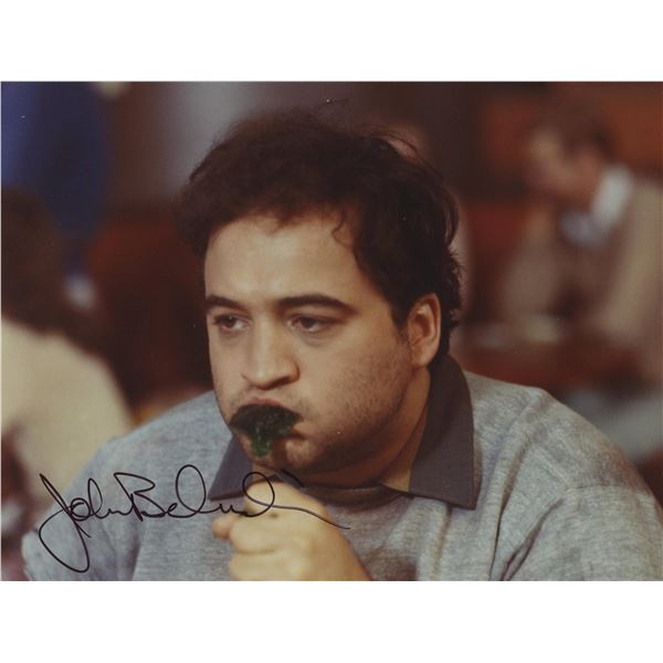 John Belushi signed Animal House movie photo