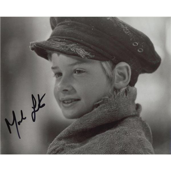 "Mark Lester ""Oliver!"" signed movie photo"