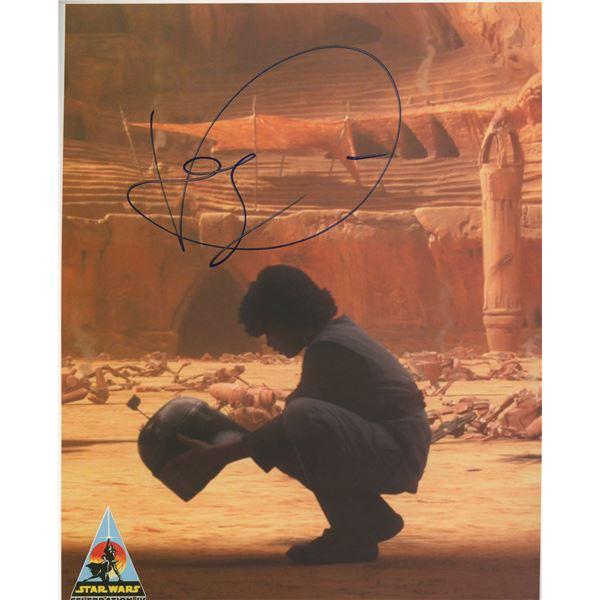 "Daniel Logan ""Star Wars: Episode II – Attack of the Clones"" signed movie photo"