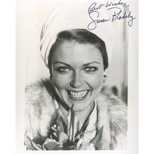 Susan Blakely signed photo