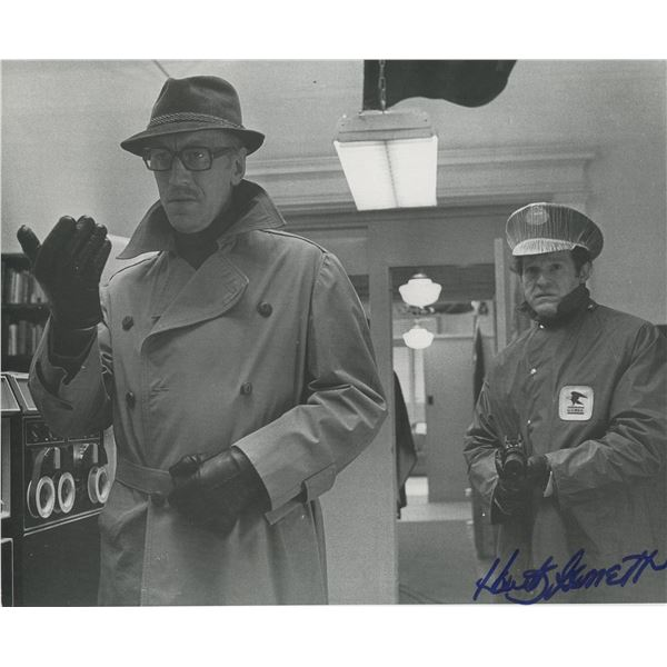 Hank Garrett signed photo