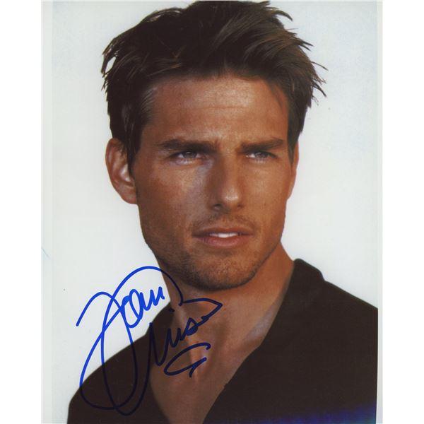 Tom Cruise signed photo