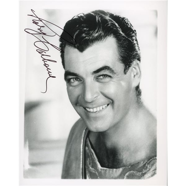 Rory Calhoun signed photo