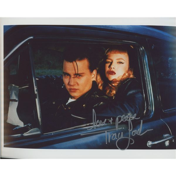 """Traci Lords """"Cry-Baby"""" signed movie photo - Framed"""