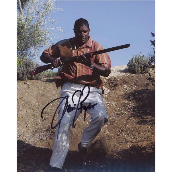 Dennis Haysbert signed photo