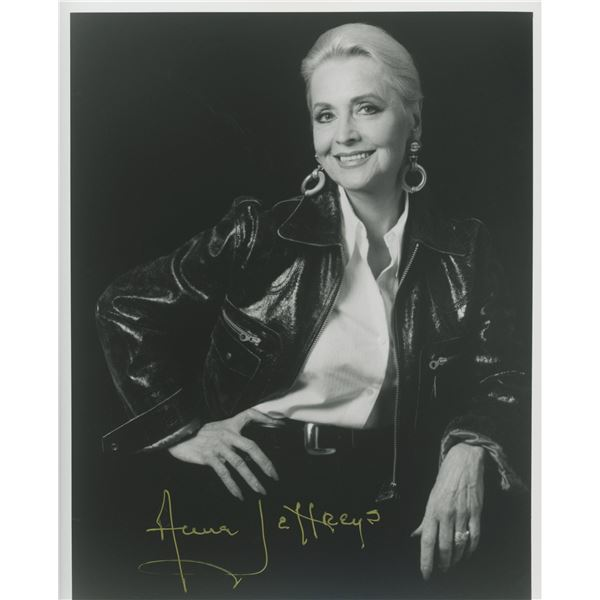 Anne Jeffreys signed photo