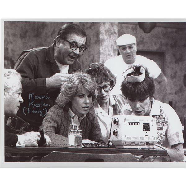 "Marvin Kaplan ""Alice"" signed photo"