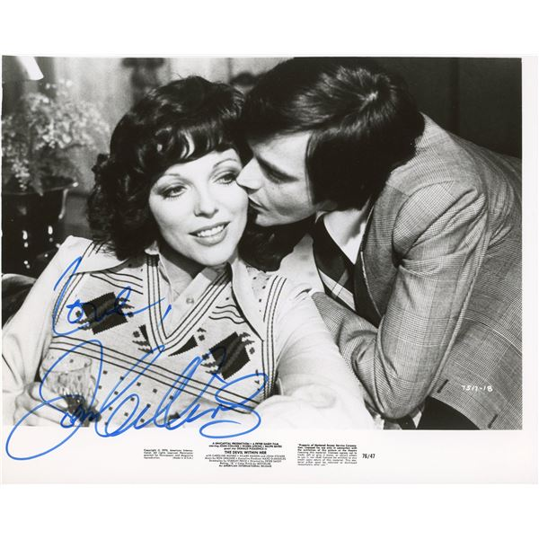 Joan Collins signed The Devil Within Her movie still