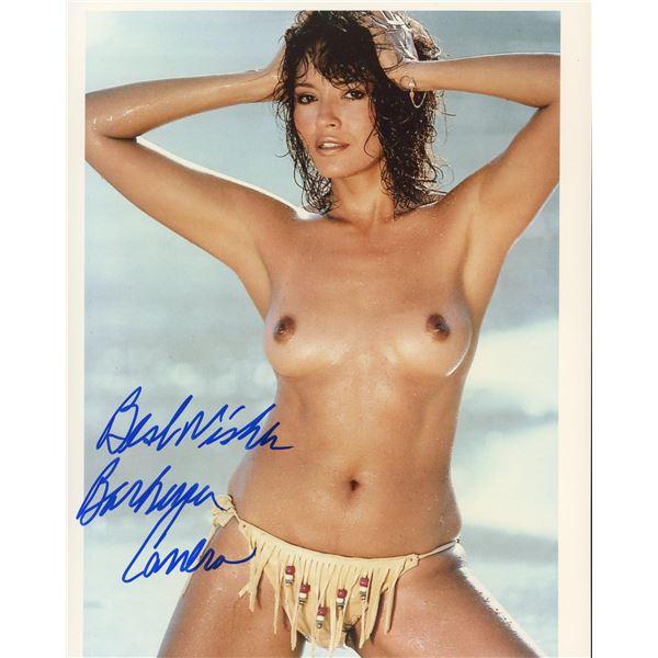 Barbara Carrera signed photo