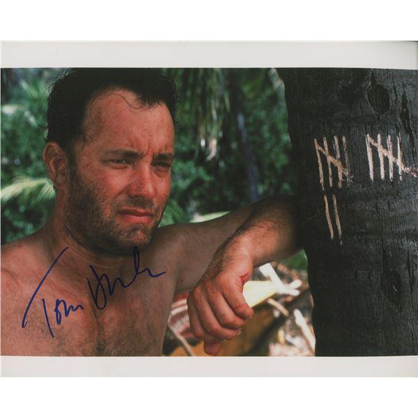 "Tom Hanks ""Cast Away"" signed movie photo"