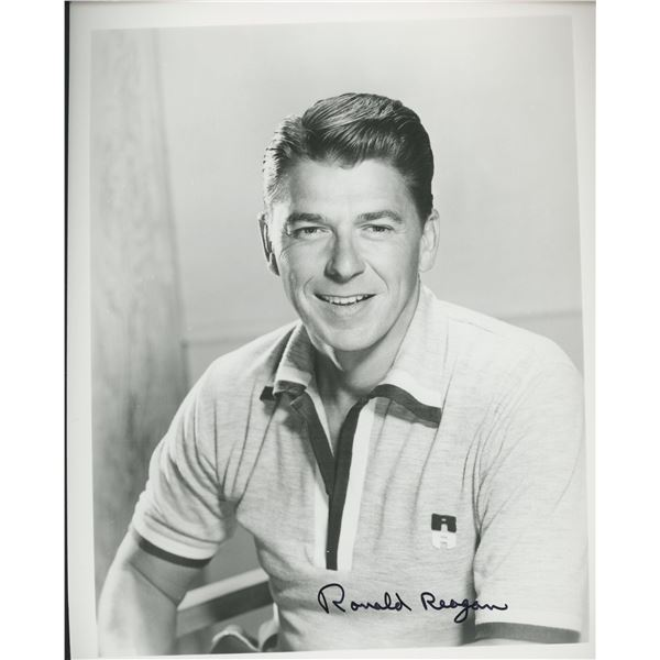 Ronald Reagan signed photo